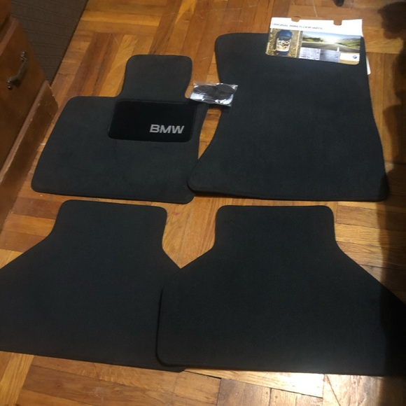 Brand new BMW floor mats
